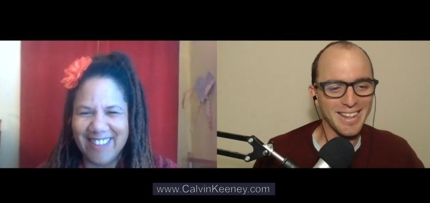 Carla Lynne Hall talking to Calvin Keeney online